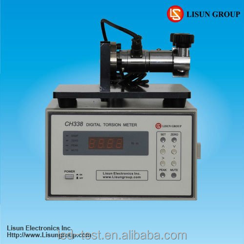 Lisun CH338 Digital Torsion Meter for the Measurement of Lamp threaded Cap Torque Force Test
