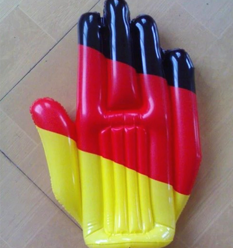 47x38cm PVC Inflatable promotion hand toys