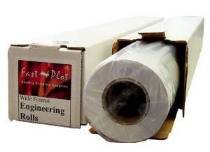 "20 lb. Bond Plotter Paper 92 Bright 18"" x 150' 2"" Core - 4 Rolls"
