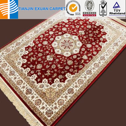 artificial silk carpets persion rugs in turkey