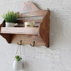 Home Decor wooden decorative wall shelf