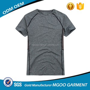 MGOO OEM Quick Dry T-shirt For Men Best Price Fashion Lightweight Fabric Apparel Newest Short Sleeve Outdoor Wears