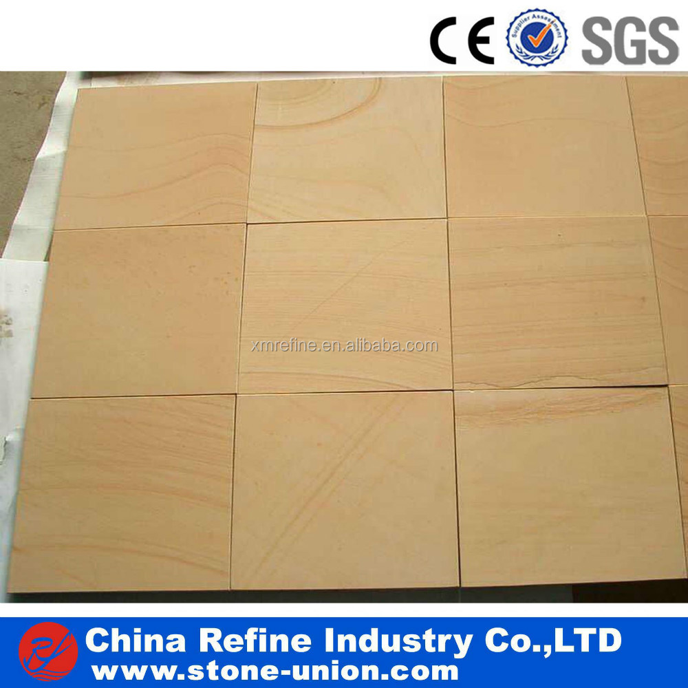wholesale natural yellow wooden sandstone price