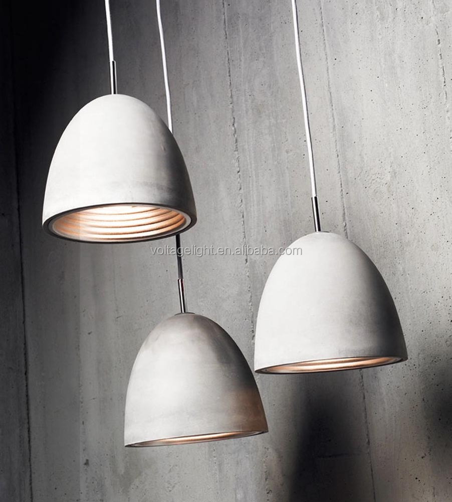 2015 New Products Industrial Concrete Pendant Lighting