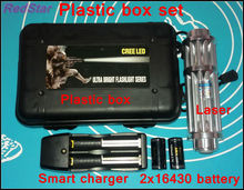 [RedStar]YX017  High power 50000mW  Blue laser pointer laser cannon gun burn cigarette match include 2×16340 battery and charger