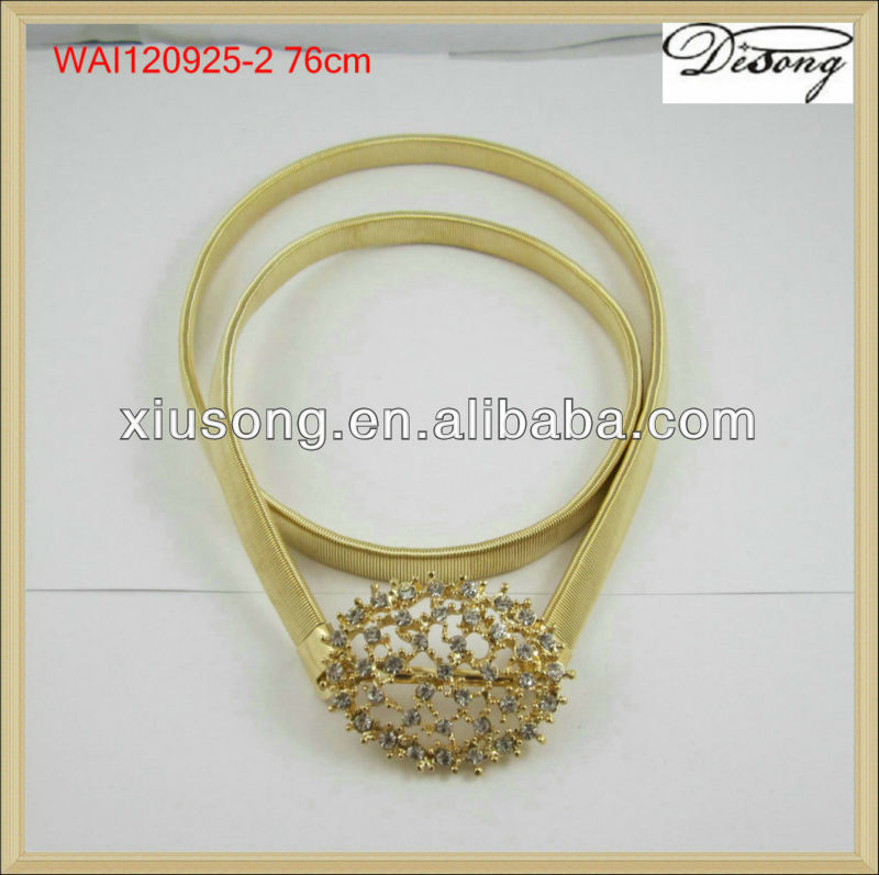 WAI120925 Fashion gold chain belts for women