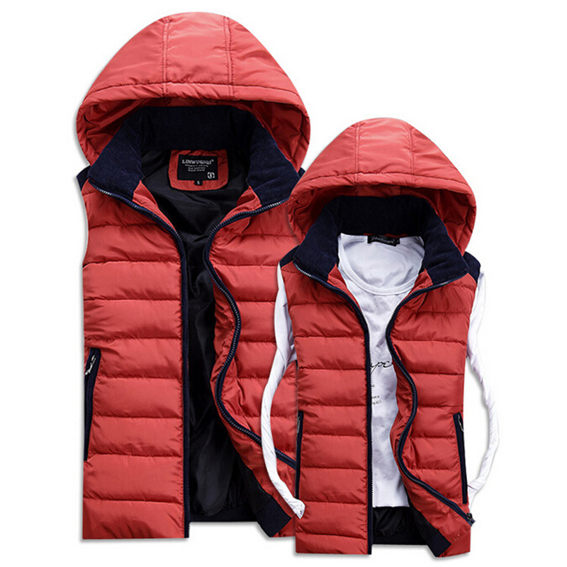 Hot Sale 2015 Autumn & Winter Casual Hooded Men Vests ...