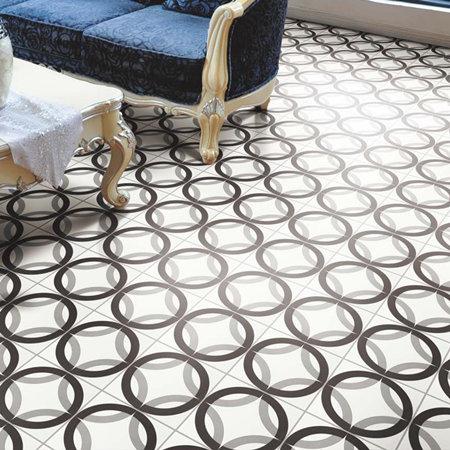 In foshan rustik tarz siyah beyaz salon el yap m for Pisos ceramicos para garage