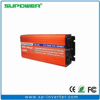 High efficiency 600W Pure Sine Wave Inverter Charger