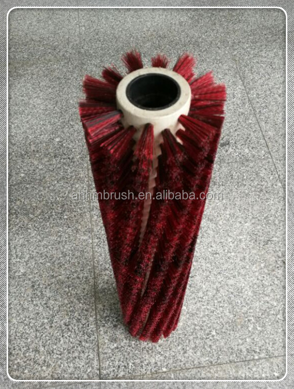 Electric sweeper roller brush pp&nylon mixed filaments broom
