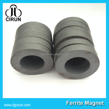 Customized Industrial Small&Large radial diametrically magnetized ring speaker ferrite magnet price for india market