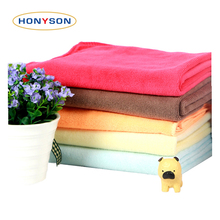 China Manufacturer Pet Bath Dog Towel