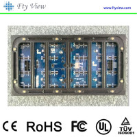 P10 outdoor full color rgb LED video display module (DIP)