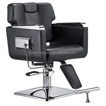 China Fabrik Orange Tragbare Friseur Stühle Machen Stuhl Dreh Liegen