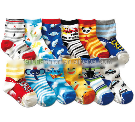 Kids Socks cotton Boy Girl Casual Baby Anti Slip Socks Children Socks