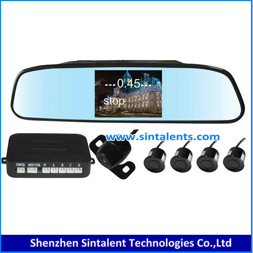 7'' quad monitor car reversing camera system,truck around view monitor
