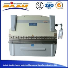 cnc power mild steel hydraulic press brake and hydraulic folding machine in thickness 16mm