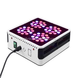 150W Cidly SERIES 60*3w led grow Light 6 band red+blue+orange+white+ IR+UV led plant grow light lamp