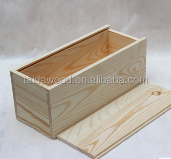 Pine Wood Sliding Box , Wood Storage Box With Sliding Lid . Wooden Ring Box  ,