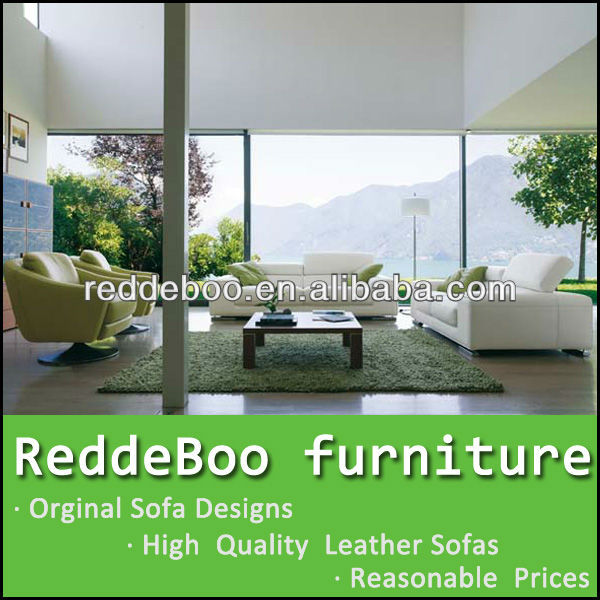 The Green Leather Sofa
