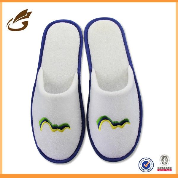 new models slippers cheap personalized used unisex hotel slipper