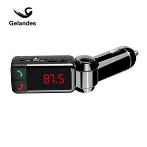 Wireless 3.5mm AUX Bluetooth Car Kit MP3 WMA Car Radio MP3 Player FM Transmitter Modulator HandsFree Dual USB Charger-UBL21