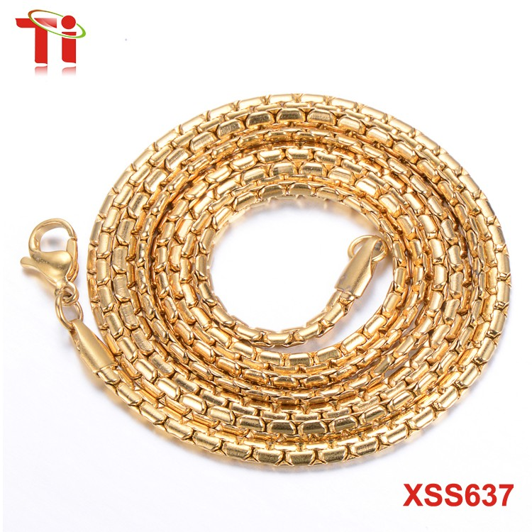 New gold chain design for men necklace stainless steel surgical ...
