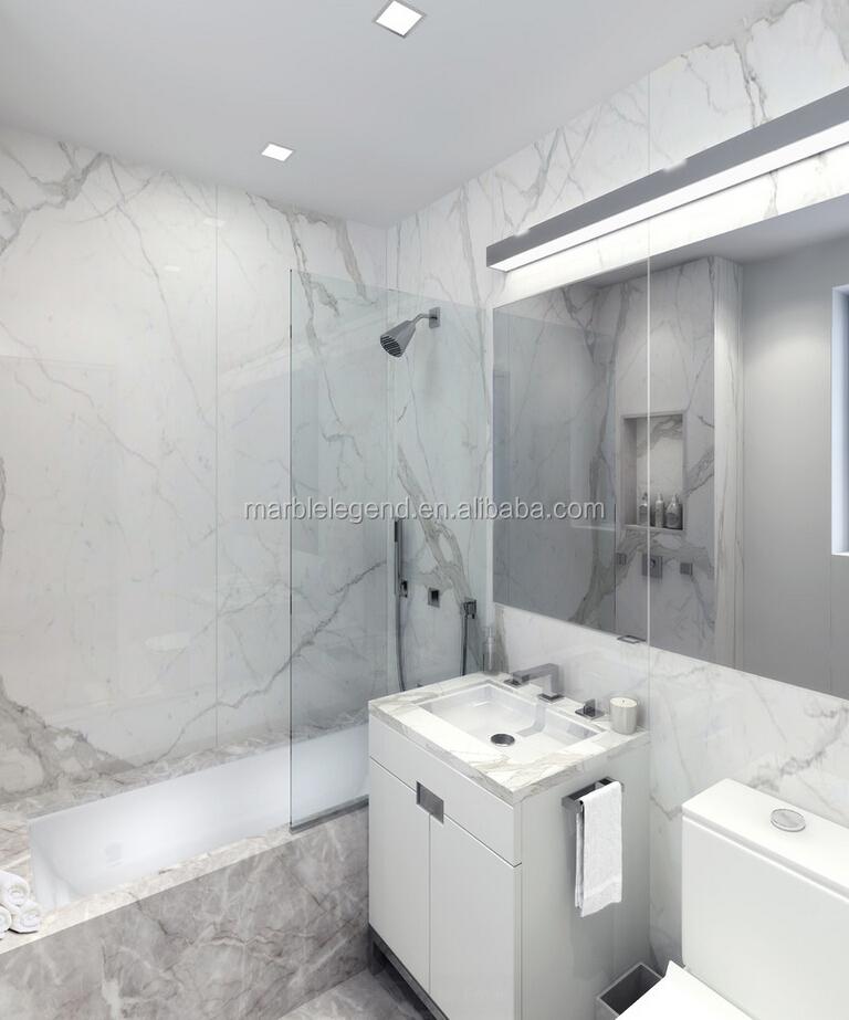 Keuken Badkamer Vloeren ~ Hotel Project Italiaanse Wit Marmeren Tegel voor Badkamer Keuken Vloer