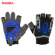 Popular professional palm gel custom chinning gloves,fitness gloves with long strap