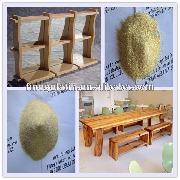hide glue industrial grade/wood glue/industrial gelatin factory