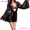 China Wholesale Women Black Lace Sexy Transparent Lingerie Sexy Babydoll