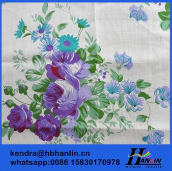 bb7de5a700a 100% Printed Custom Cotton Bed Sheet Fabric,printed cotton fabric/ printed  banners photo