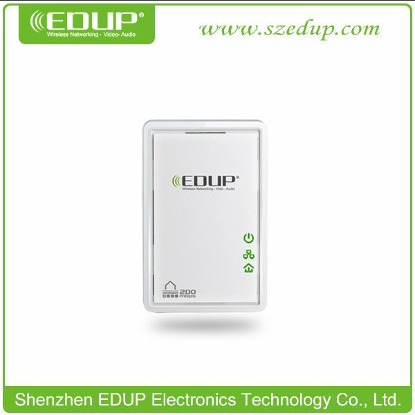 HomePlug AV 200Mbps Mini Ethernet Bridge Powerline