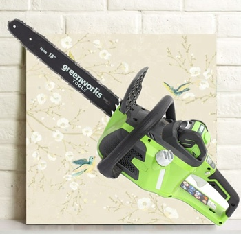 Chinese supplier best price excellent quality electric chain saw 80v 18inch