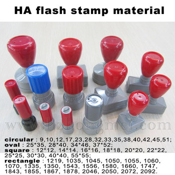 Office Fashion Ha Flash Stamp Office Self Inking Rubber