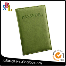 Hot Sale Passport Wallets Card Holder Protector PU Leather Travel Case