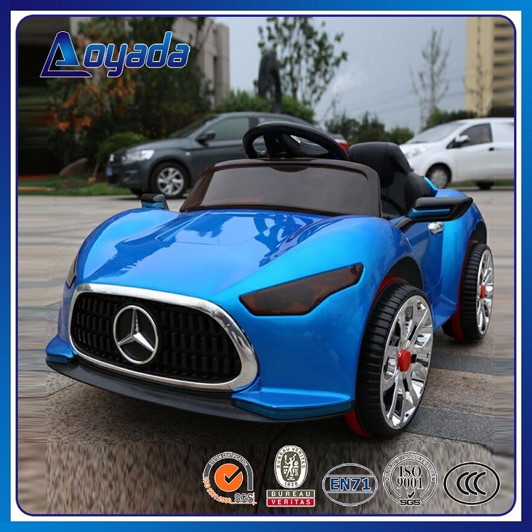 high quality mecedes benz mark electric battery toy car for kids to drive ride on car