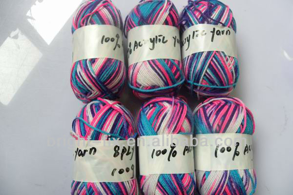 1.5nm Wool/acrylic Hand Knitting Yarn