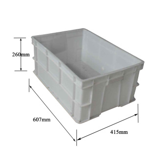 High Quality Plastic Molding Injection Turnover Box For Sale Cheap Food GradePlastic Collapsible Folding Crates with Lids