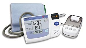 Omron HEM 705 CP Auto Inflate Blood Pressure Monitor with Printer