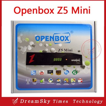Original openbox z5 mini Sunplus 1506E Satellite TV reciver support USB wifi,IPTV, DLNA PowerVu Openbox Z5 Mini Set Top Box