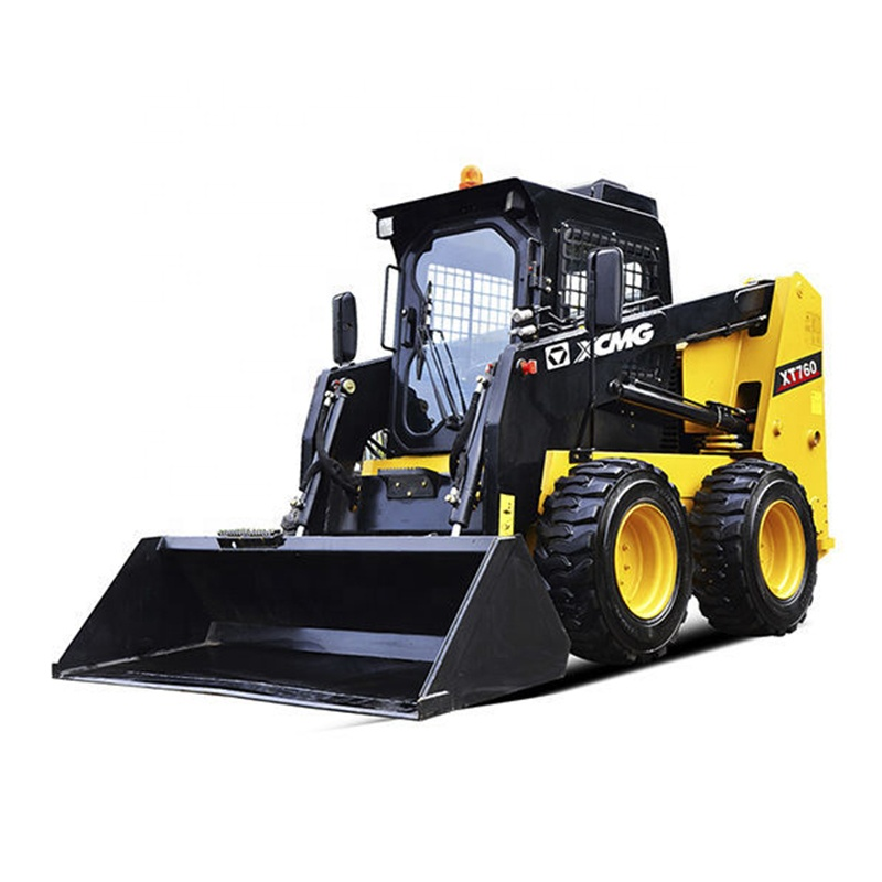 Front end loader prezzi XT760 caricatore frontale telescopica skid steer loader