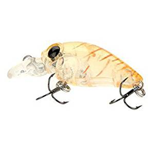 Fishing bait - Trulinoya DW24 37mm Mini Crank fishing bait hard fishing lures with the BKK for fish predator for pike, Wells, cod, spinner,Sandre-Leopard yellow