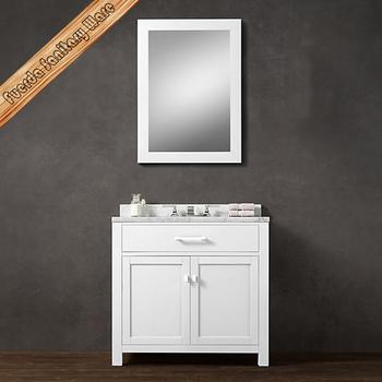 Fed-1982 Simply Design Solid Wood Bathroom Vanity - Buy Bathroom Basin ...