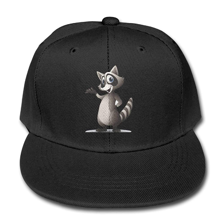 a6d4e43e1c6 Get Quotations · Kids Hat Kids Baseball Cap Quzim Oklahoma Raccoon Say Hello