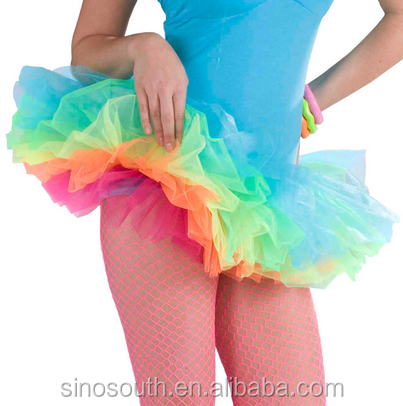 Wholesale 5layer Colorfuly Fluffy Ballet Tutus for Girls