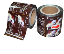 Aluminium Foil Instant Coffee Sachet Packaging Film Roll for Sachet Packaging Machine