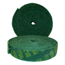 8698 green industrial scouring pad for polishing non-woven abrasive nylon for metal cleaning