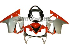 For Honda Body Kit CBR600F4i 01-03 CBR 600 f4i 2001 2002 2003 Red Silver