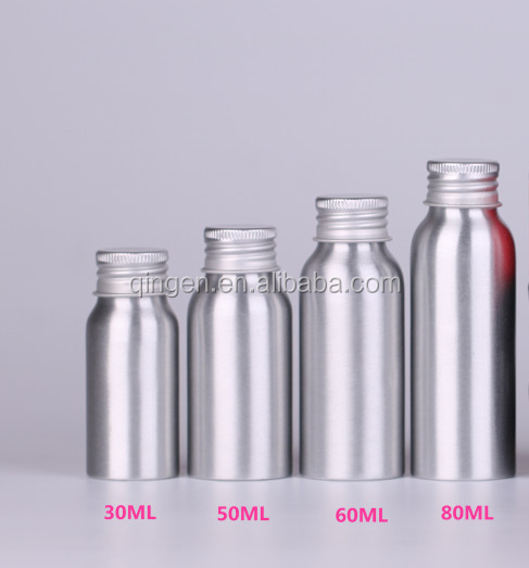 100ml 200ml 300ml 500ml beer/water aluminum container with screw cap